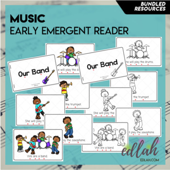 Music Early Emergent Reader - BUNDLE