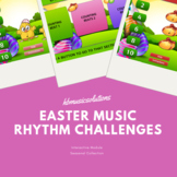 Music Easter Rhythm Challenges - Music Interactive Module