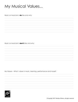 Music Education: Musician's Portfolio