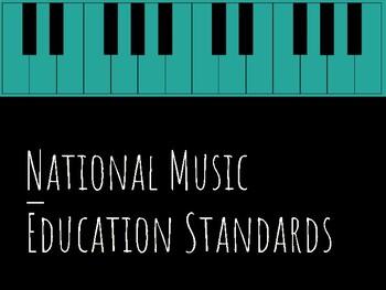 Music Education National Standards Bulletin Board