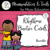 Music Education Tools - Rhythm Practice Cards Bundle