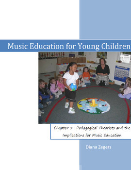 Music Education for Young Children.  Chapter 3 - Pedagogic