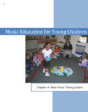 "Music Education for Young Children.  Chapter 4, INCLUDES ""Music Printables"""