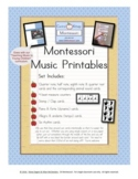 Music Education for Young Children - Printables