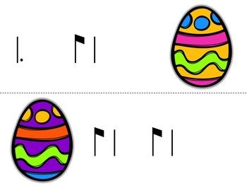 Music Egg Race Game: 6/8 meter