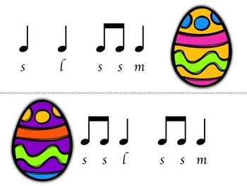 Music Egg Race Game: la version