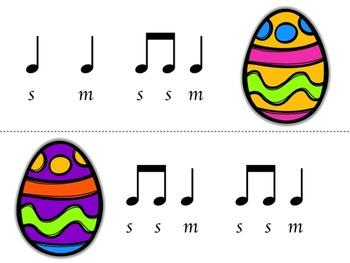 Music Egg Race Game: so-mi version