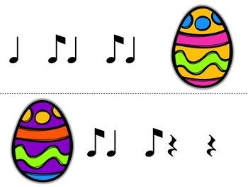 Music Egg Race Game: syncopa
