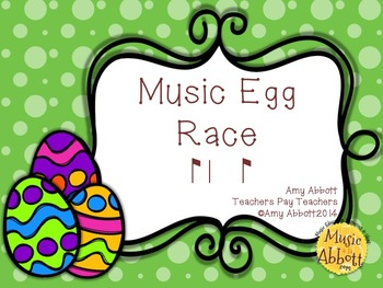 Music Egg Race Game: syncopa