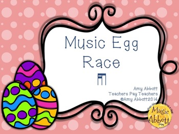 Music Egg Race Game: tika-ti