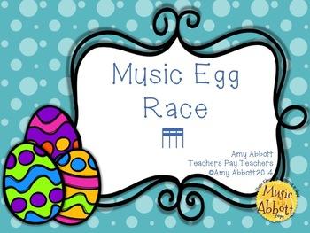 Music Egg Race Game: tika-tika