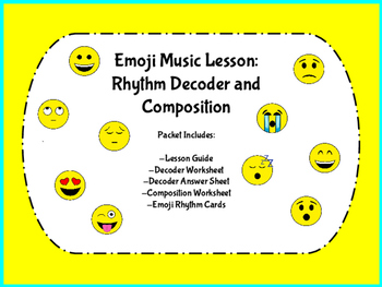 Music Emoji Lesson: Rhythm and Composition