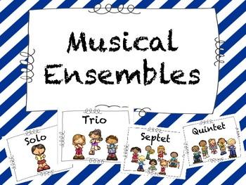 Music Ensembles Posters