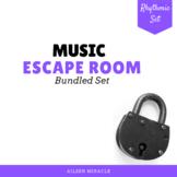 Music Escape Room {Rhythm Growing Bundle}