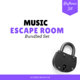 Music Escape Room {Rhythm Bundle}