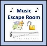 Music Escape Room - a game for note reading