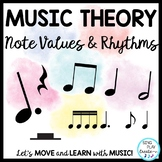 Music Theory Lessons: Note & Rest Values, Rhythm Practice