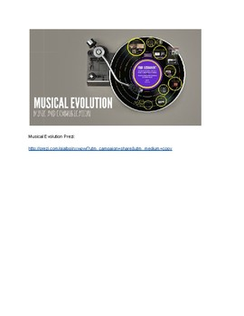 Music Evolution: Music and Communication Lesson