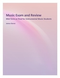 Music Exam Packet