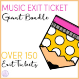 Music Exit Ticket Giant Bundle