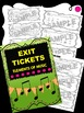 Music Exit Tickets BUNDLE Package! Note Names, Elements, Rhythms, NEW Composers!