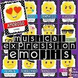 Music Expression Emojis Bulletin Board