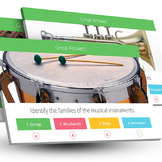 Music: Families of the Instrument Trivia [Interactive PowerPoint Game]