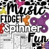 Music Fidget Spinner Fun