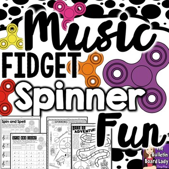 Music Fidget Spinner Fun