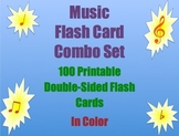 Music Flash Card Combo Set