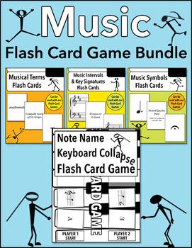 Music Flash Card Game Bundle