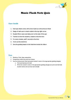 Music Flash Note Quiz #1