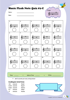Music Flash Note Quiz #2