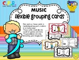 Music Flexible Grouping Cards