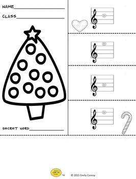 Christmas Music Activities (Music Flipbooks)