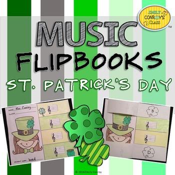 St. Patrick's Day Music Activities (Music Flipbooks)