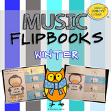 Winter Music Activities (Music Flipbooks)
