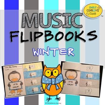 Winter Music Activities (Music Flipbooks)
