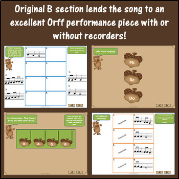 Hop Old Squirrel – Orff, Recorder, Melody and More