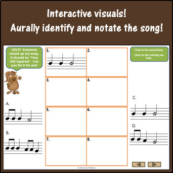 Hop Old Squirrel: Orff, Recorder, Rhythm, Melody and More
