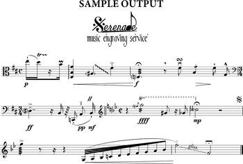 Music Font for Sibelius