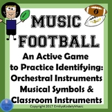 Music Football BUNDLE-Music Symbols and Orchestral and Cla