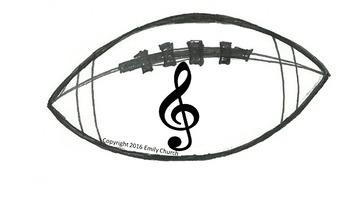 Music Football- Musical Symbols