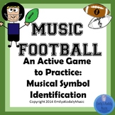 Music Football- Musical Symbols