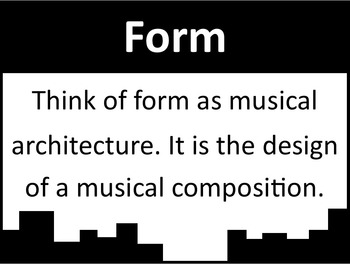 Music Form Letter Cards (Hard Copies and Images)