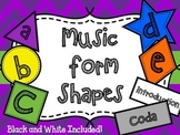 Music Form Shapes