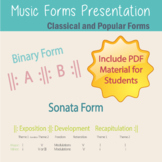 Music Forms Presentation include PDF Material for Students