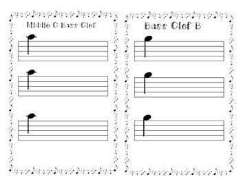 Music Foundation Booklet 1 : Reading Notes