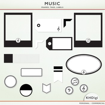 Music - Frames, Tags and Labels