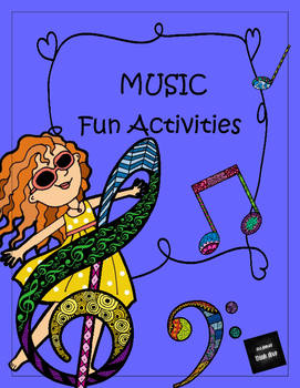 Music Fun Activities and Posters